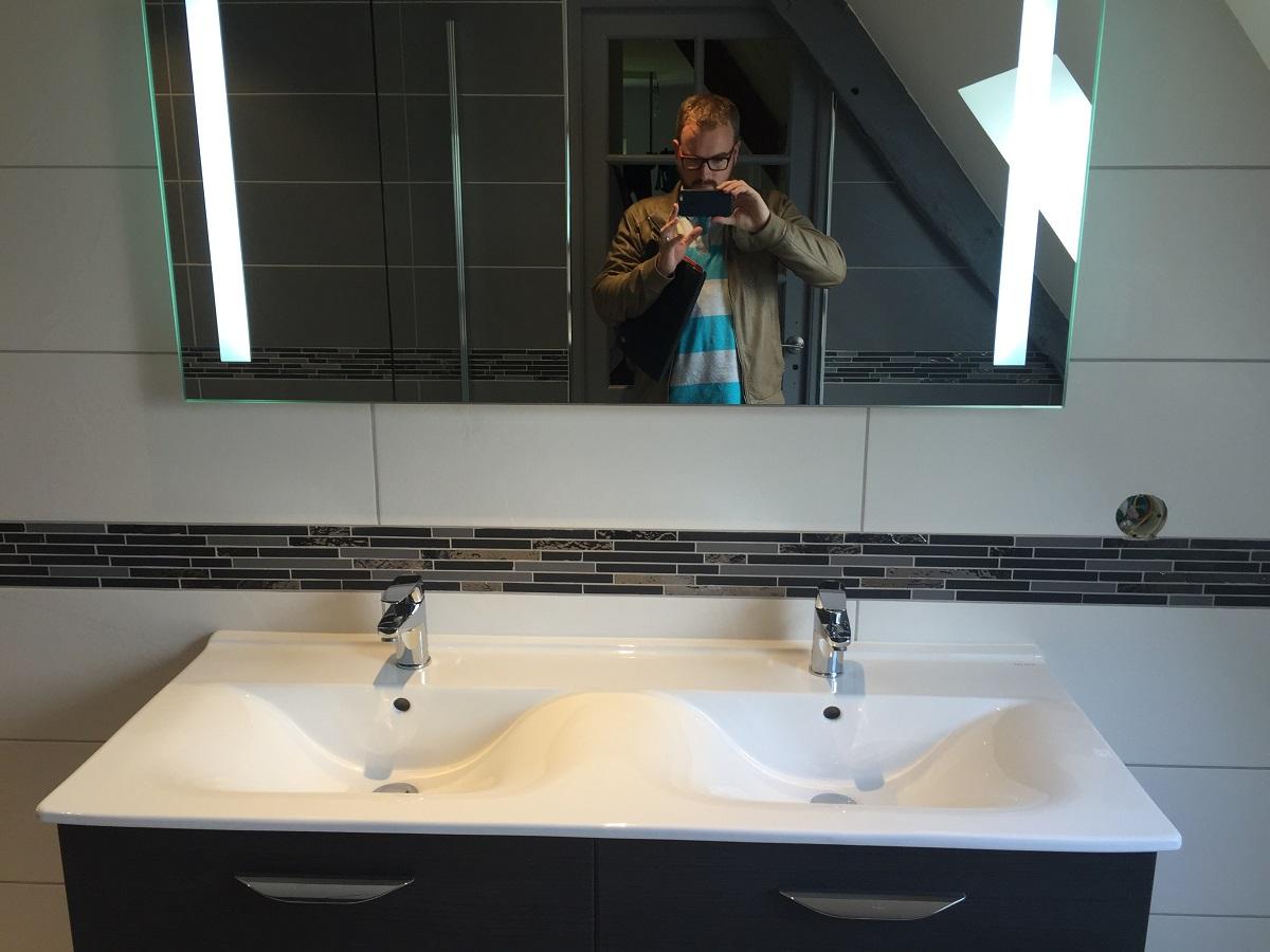 Rénovation de 2 salles de bain clef en main à FOURNEVILLE
