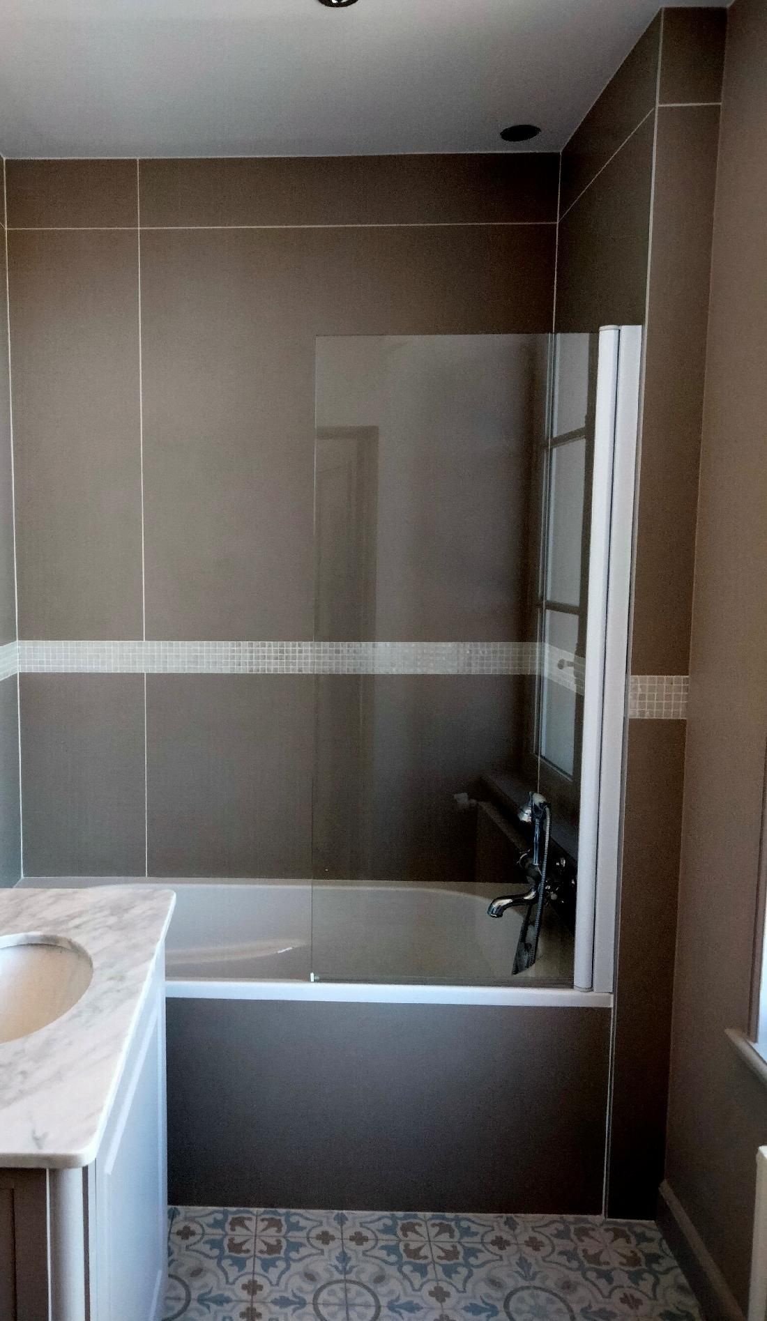 Installation sanitaire et chauffage dans un manoir - 14600 EQUEMAUVILLE    1/2