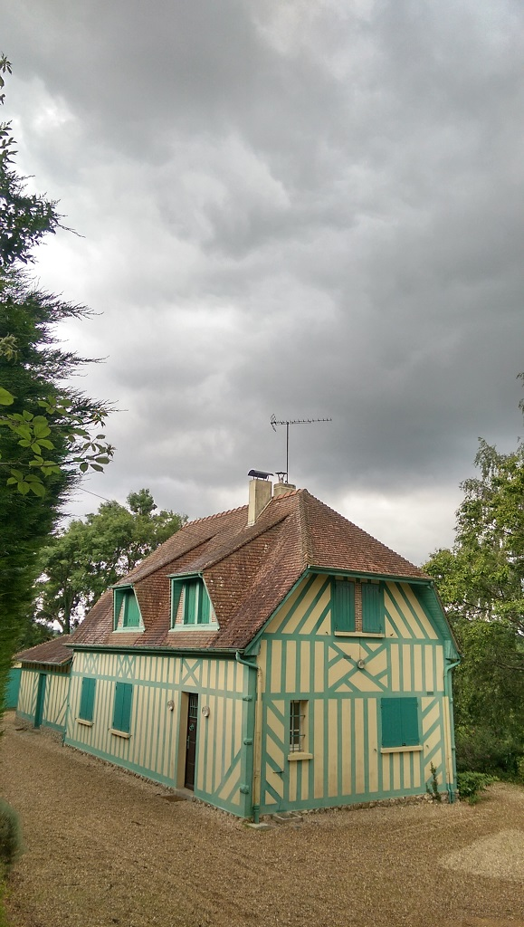 Rénovation d'une cheminée à QUETTEVILLE (14130)