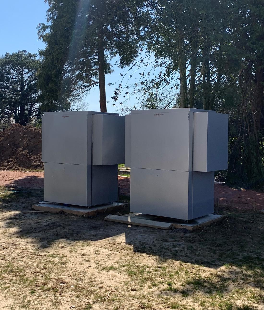 Installation sanitaire et chauffage dans un manoir - 14600 EQUEMAUVILLE 2/2
