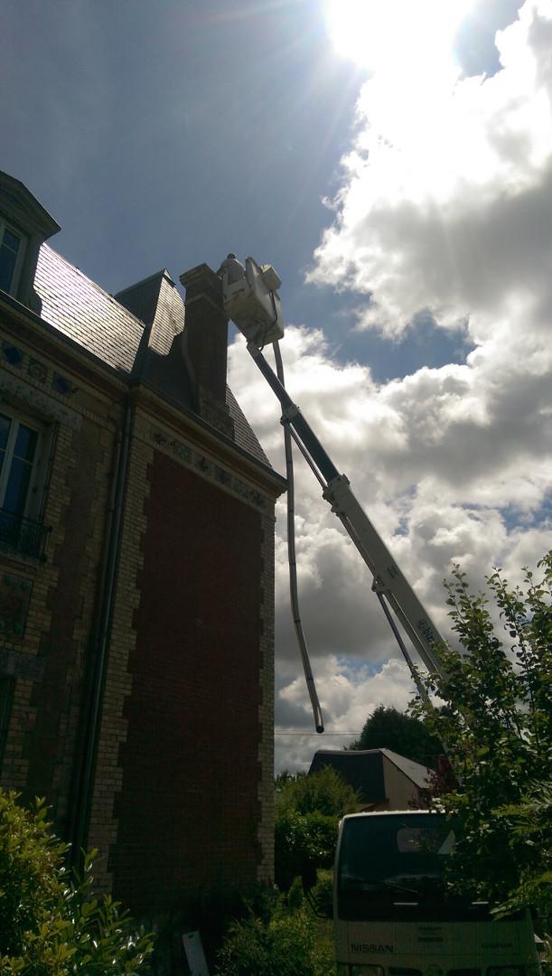 Installation d'une chaudière à granulés OKOFEN à BEUZEVILLE - 27210