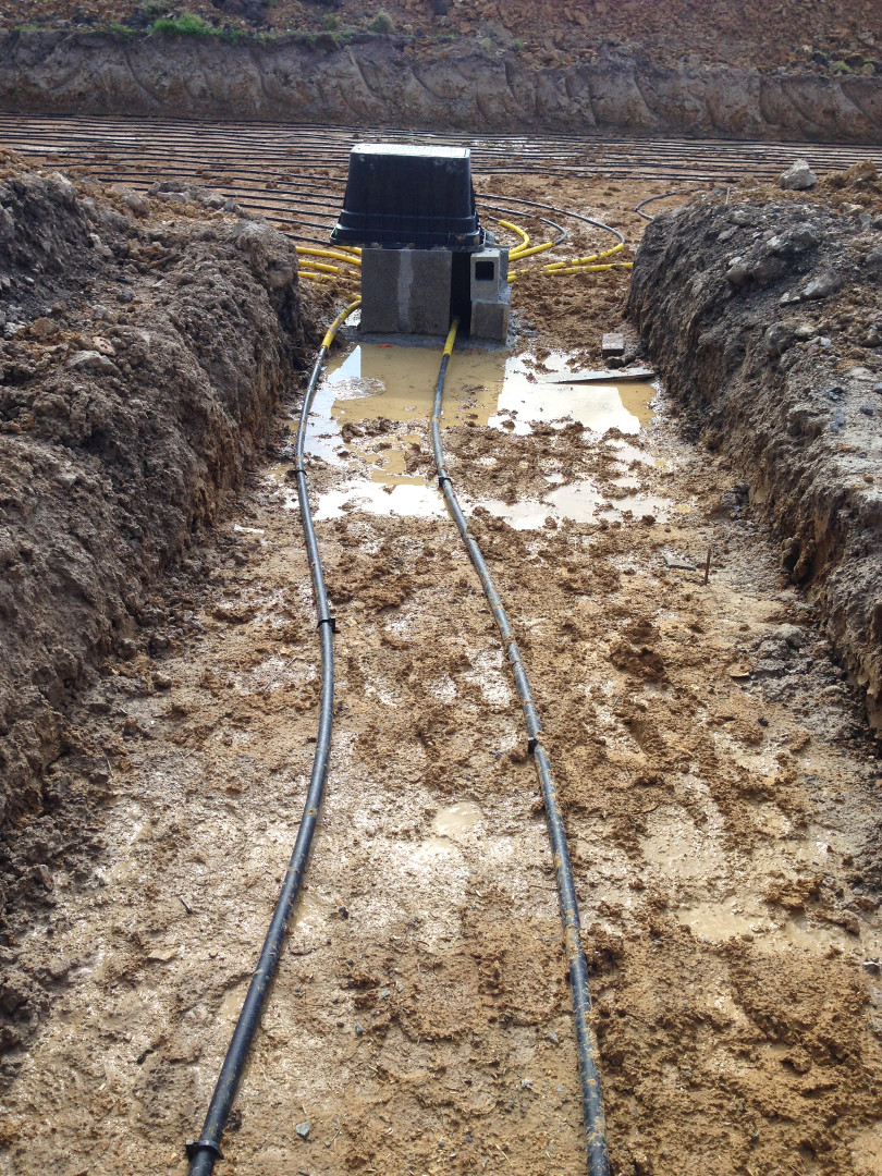 Installation d'un système de chauffage par PAC Géothermique à captage horizontal - 14600 ABLON