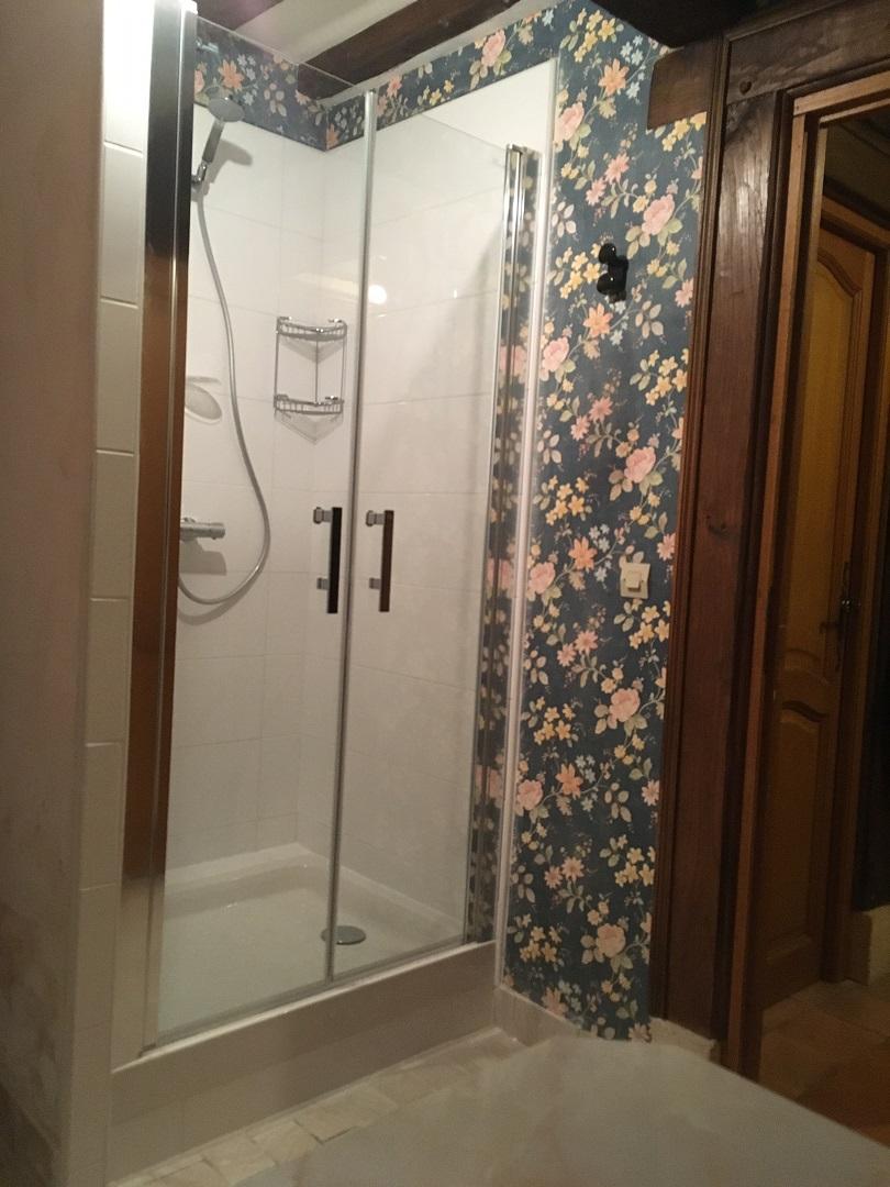 Rénovation d'un espace douche complet - 27210 LA LANGE SAINT LEGER